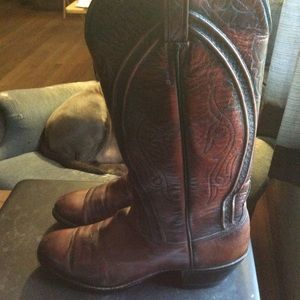 Gently used Lucchese boots